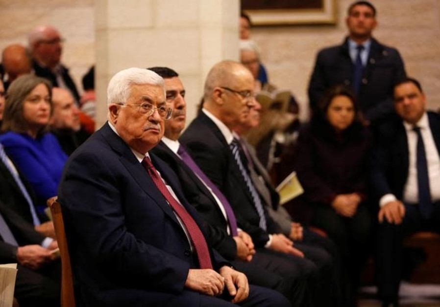 Having missed the boat, the Palestinian Authority is sinking