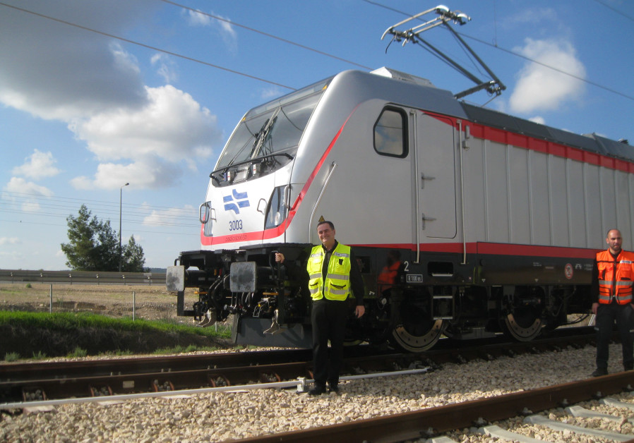 High-speed train between Tel Aviv and Jerusalem makes first test run