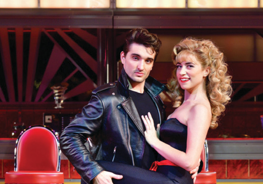 A scene from London's West End musical Grease (Courtesy)