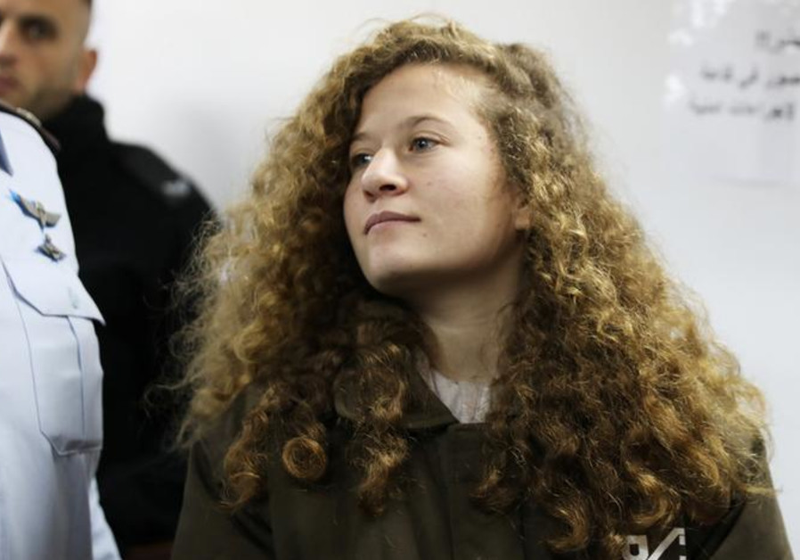 Palestinian teen Ahed Tamimi to serve 8 months for slapping soldier
