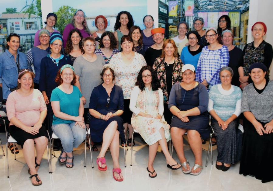 The Israeli Women Entrepreneurs' Network retreat in May 2017