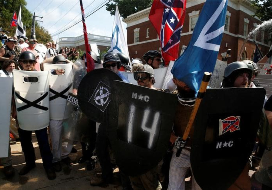 ADL: U.S. White Supremacists Murdered More in 2017 Than Domestic Islamists