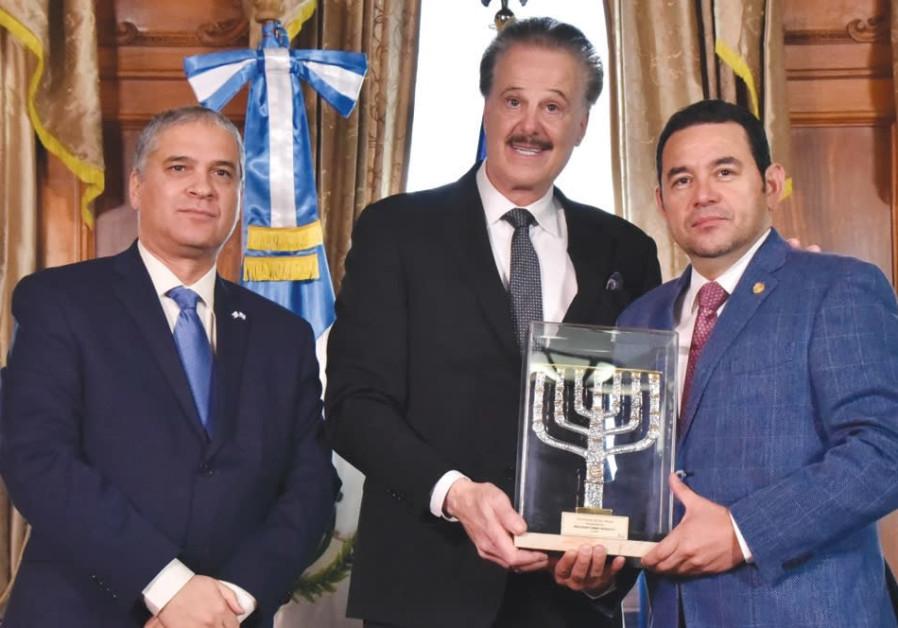 FOZ honors Guatemala for Jerusalem embassy decision