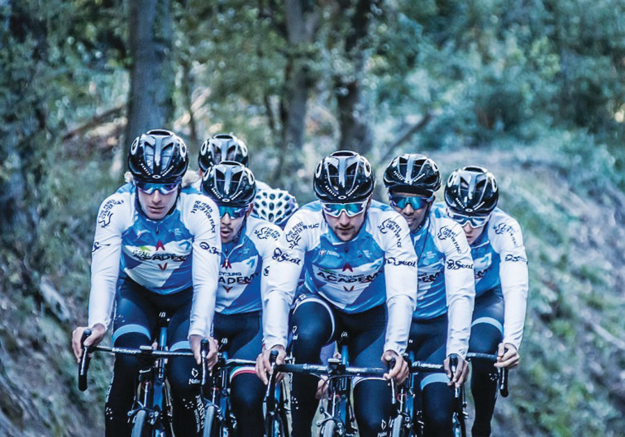 Israel Cycling Academy riders.