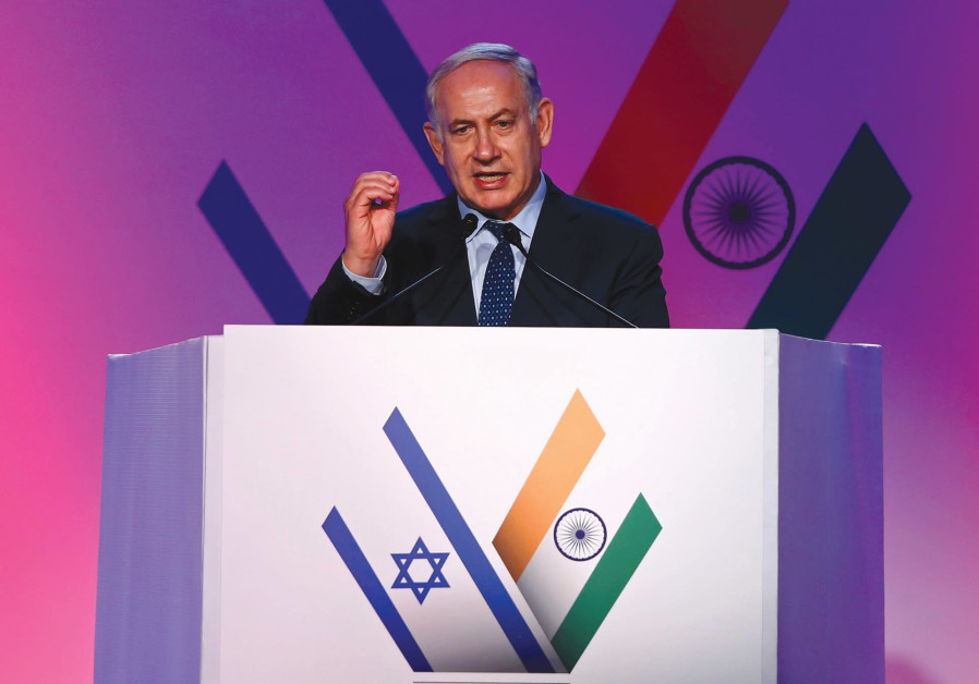 THINK ABOUT IT: Netanyahu's state visit to India