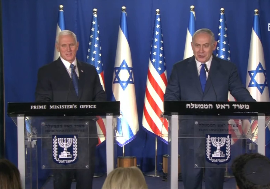 Prime Minister Benjamin Netanyahu and US Vice President Mike Pence deliver joint adresses.