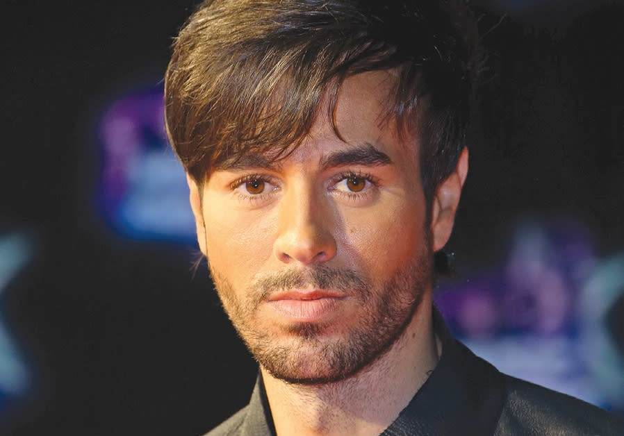 Enrique Iglesias returning to Tel Aviv