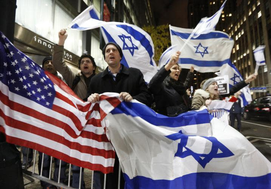 Deep Partisan Divide Among Americans Over Israel