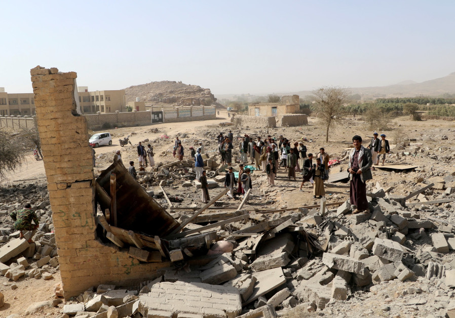 Nine killed in Saudi-led air strike in Yemen, residents say