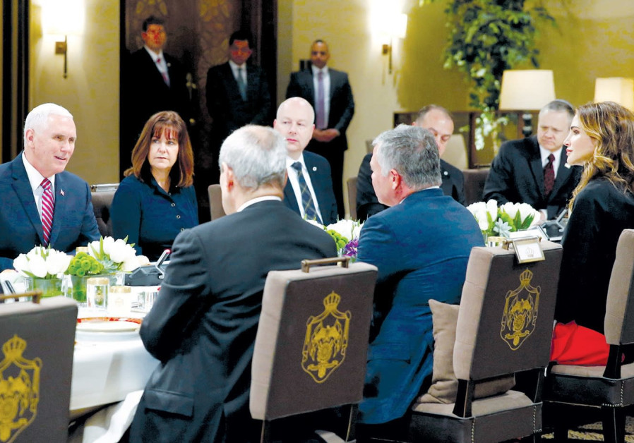 Pence Middle East trip a cause for concern in Jordan
