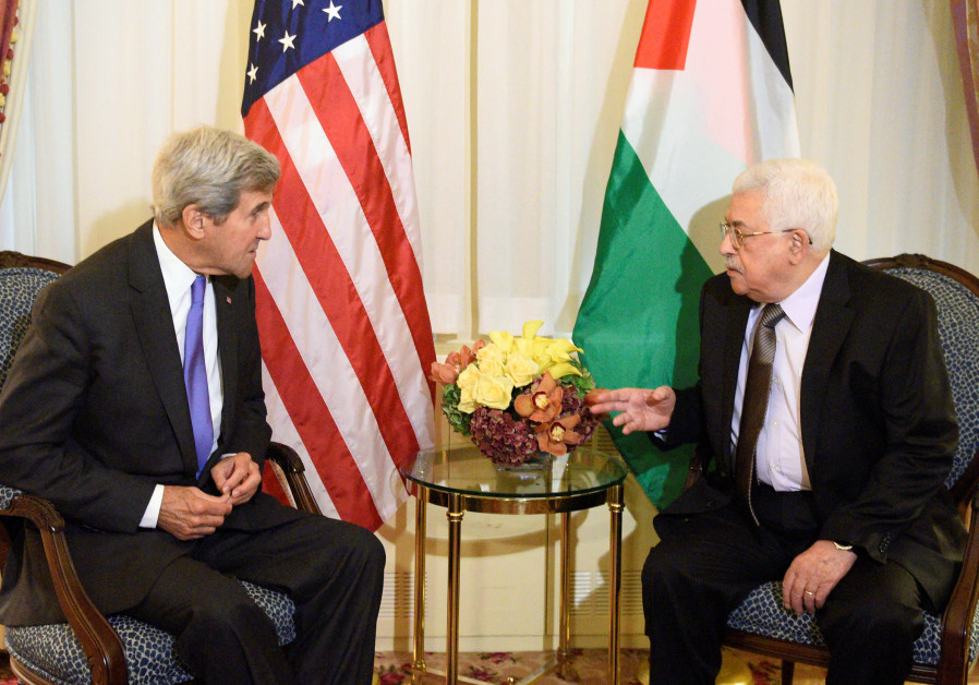 Kerry to Abbas confidante: 'Stay strong and do not give in to Trump'