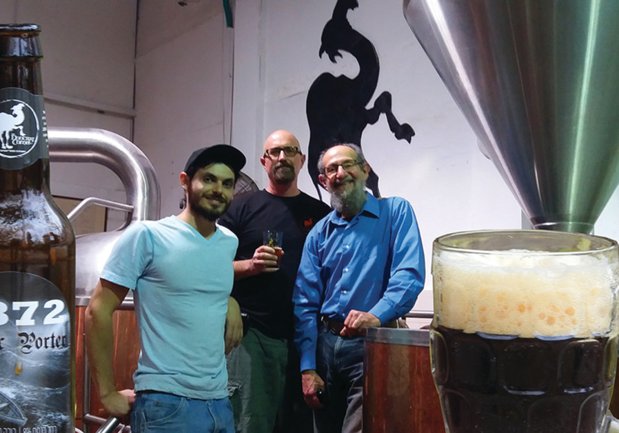 The Dancing Camel Brewery in Tel Aviv launched its version of 1872 Baltic Porter, an Israeli-German