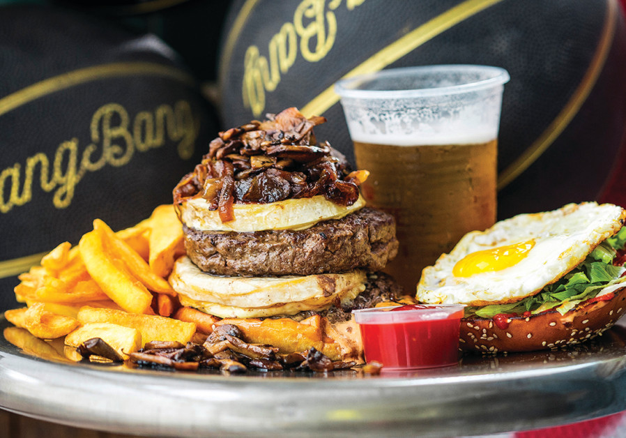 Grinberg Bistro does burgers American-style