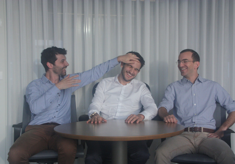 Michael Braginsky (left), Elad Walach (middle), and Guy Reiner (right).