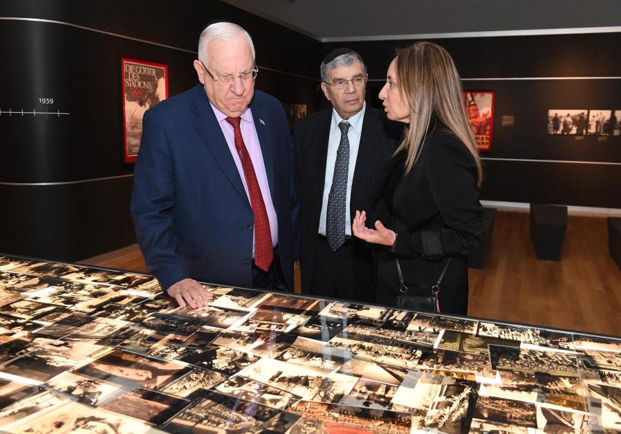 President Rivlin to foreign envoys: Israel 'not compensation for Holocaust'