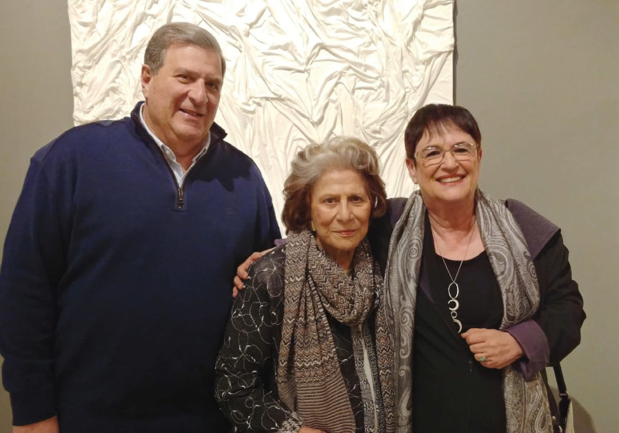 FROM LEFT: Udi and Dina Recanati with Ruthie Ofek.