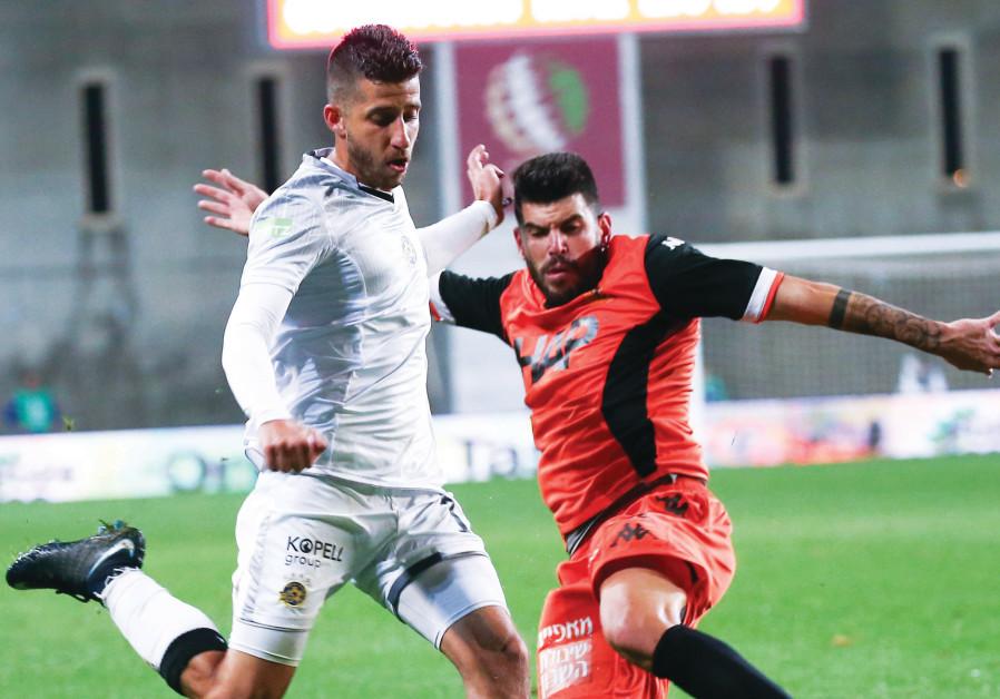 Maccabi Tel Aviv midfielder Dor Micha