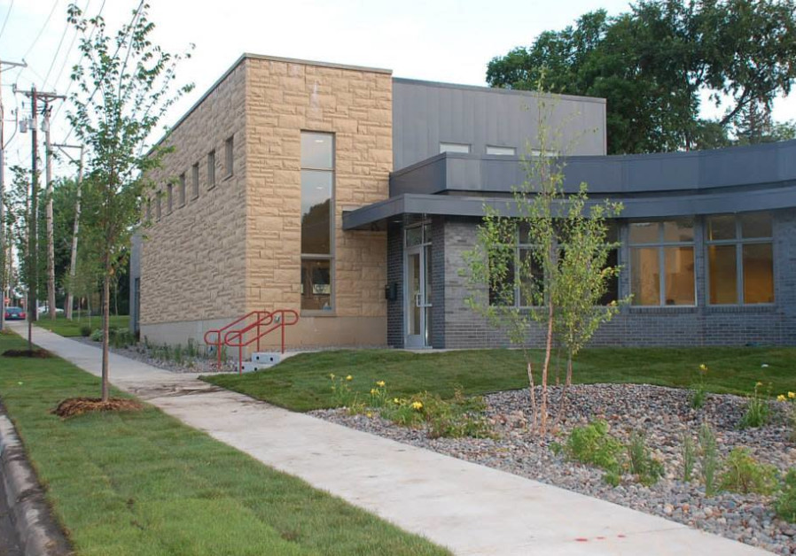 Darchei Noam synagogue in Minneapolis.