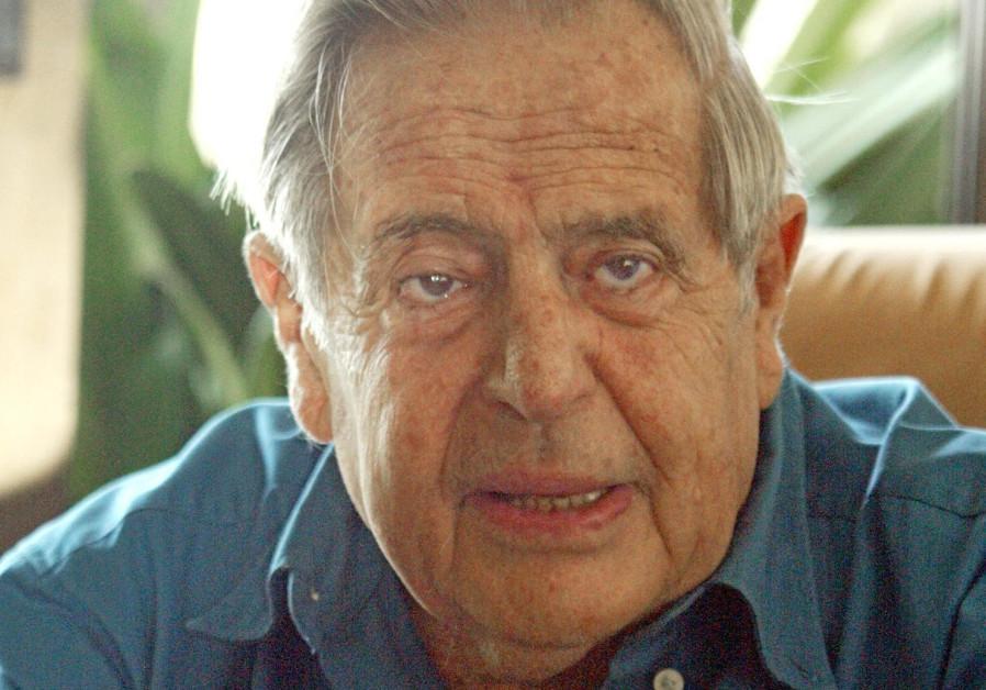 Israeli poet Haim Gouri