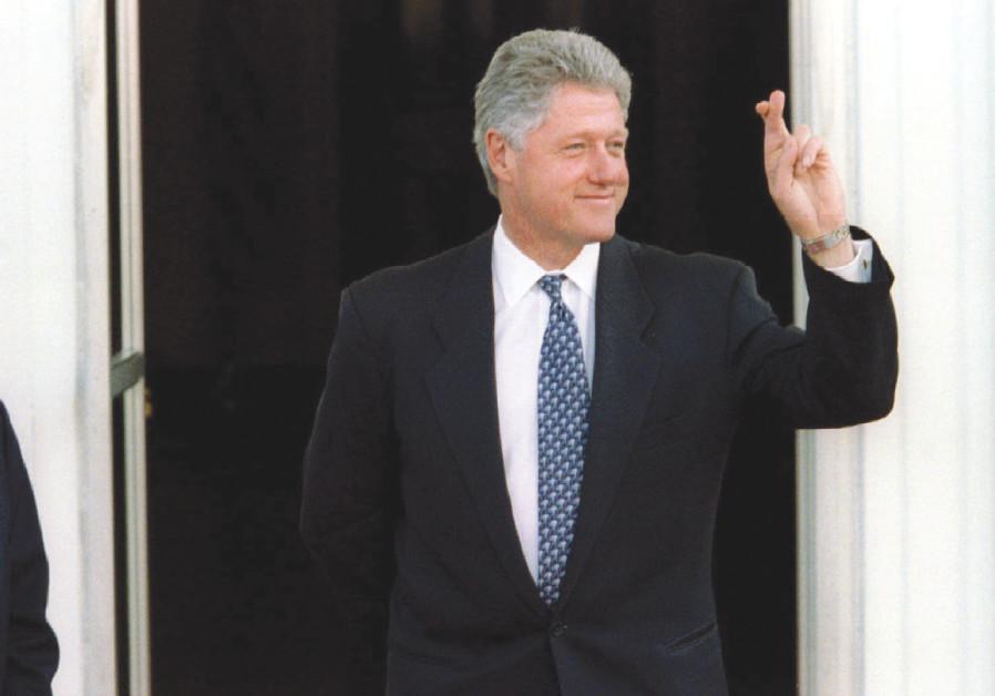 US PRESIDENT Bill Clinton and Yitzhak Rabin in 1995.
