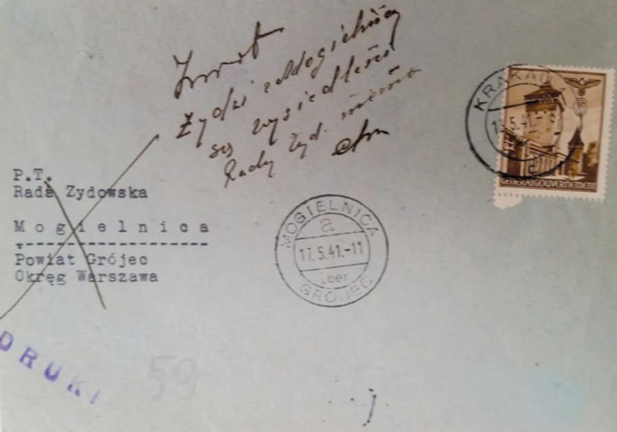1940 41 Letters Describe Destruction Of Polish Jewry