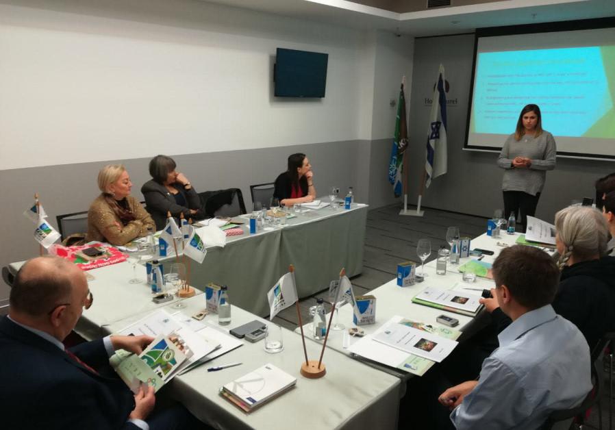 KKL-JNF Tu Bishvat Seminar in Montenegro