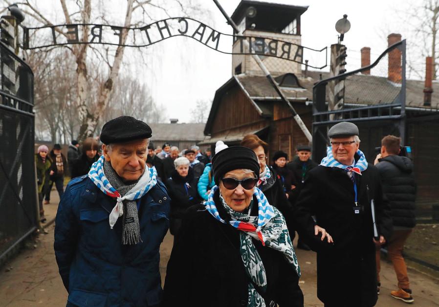 What do Holocaust survivors think of 'Polish death camps'?