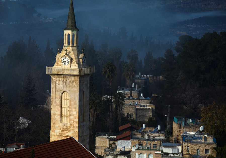 The Church of Saint John the Baptist in Jerusalem