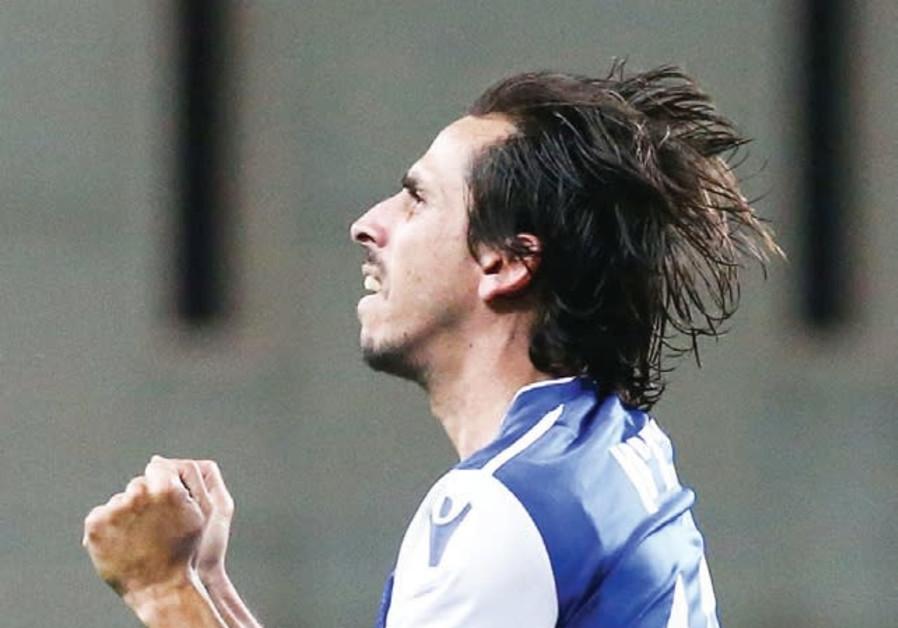Maccabi Petah Tikva midfielder Yossi Benayoun.