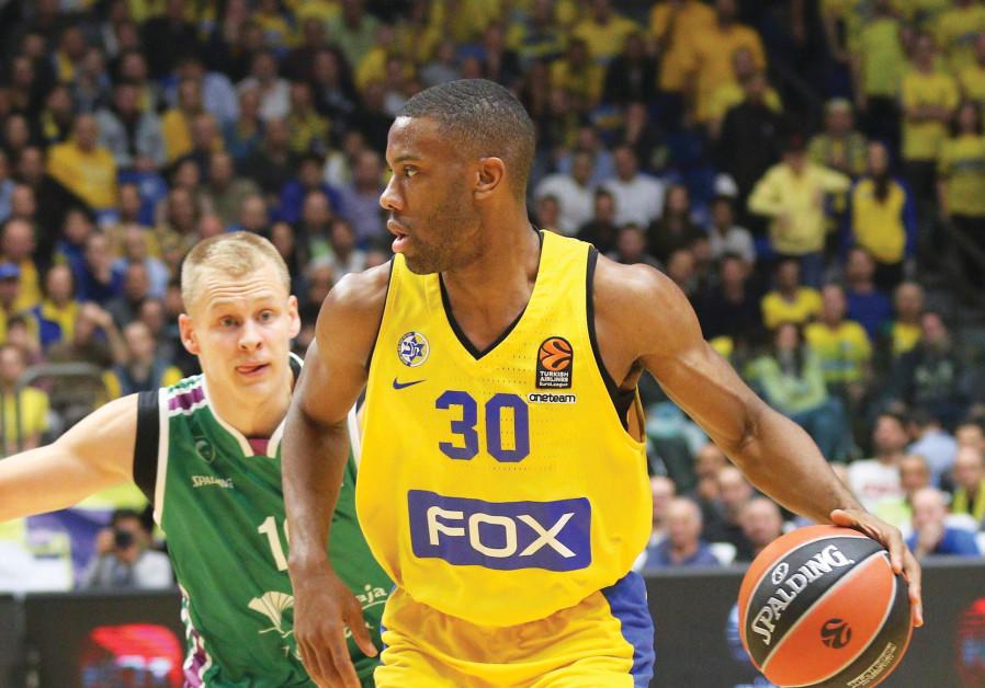 Maccabi Tel Aviv guard Norris Cole (30)