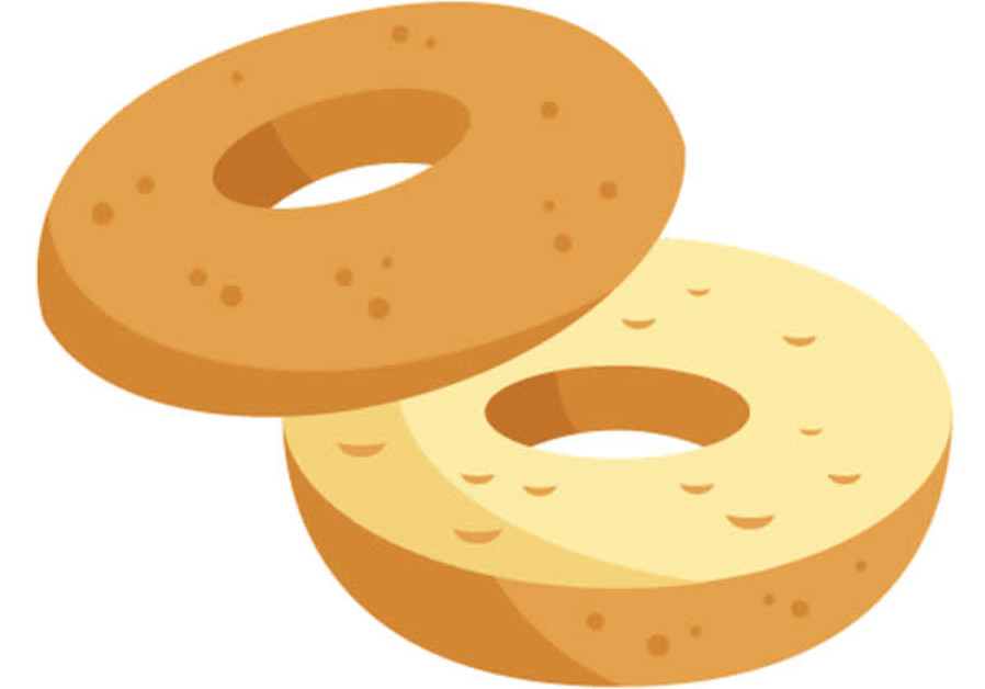 The new bagel emoji.