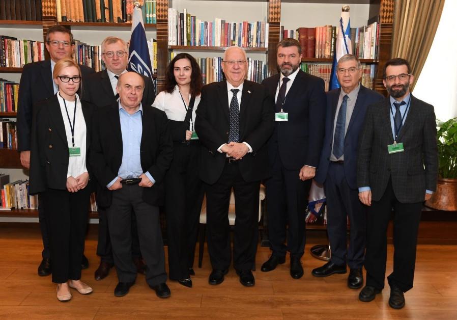 Rivlin backs plans for Babi Yar Holocaust Memorial Center