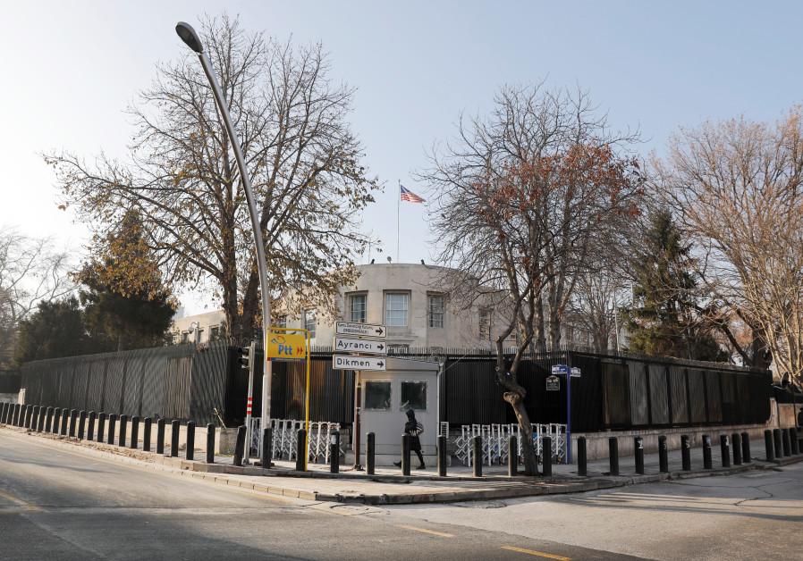 US Embassy in Ankara, Turkey