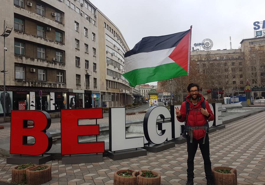 Swedish man walking 4800 km to raise awareness for Palestinian cause