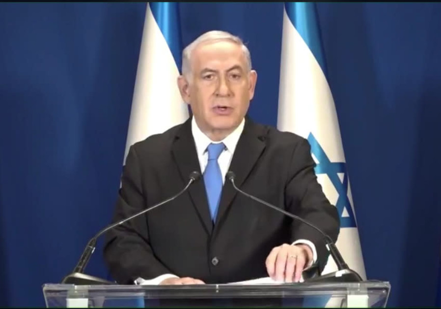 Netanyahu's new task: Projecting business as usual in highly unusual times