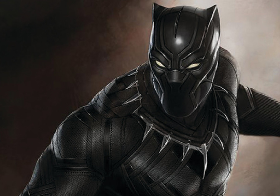 Scene from the fantasy film 'Black Panther'