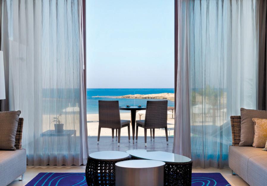 View from hotel in Carmel region