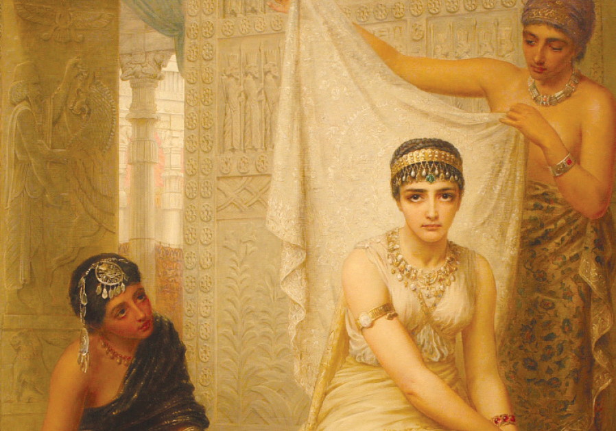 'QUEEN ESTHER' (1879) by English painter Edwin Long