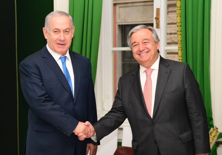 Netanyahu to UN chief: We'll continue to act against Iran in Syria