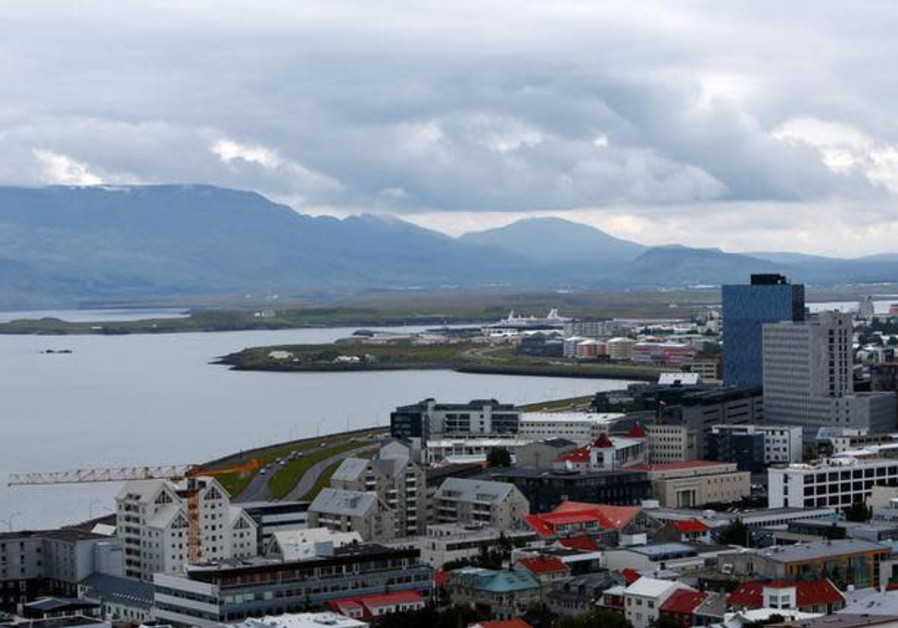 A general view of Reykjavik, Iceland