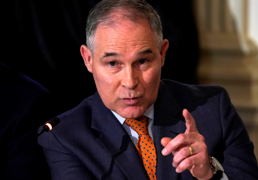 US Environmental Protection Agency head cancels Israel trip