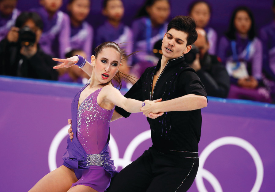 Israeli pair finishes last in ice dancing, Bykanov back for 500m