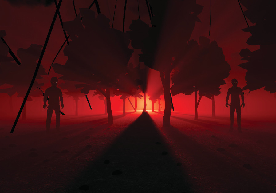 Screenshot from Capricia's current game 'The Birdcage'