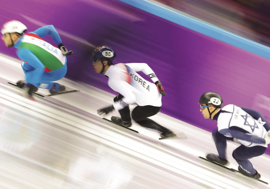 Blue-and-white's Bykanov last in 500m heat