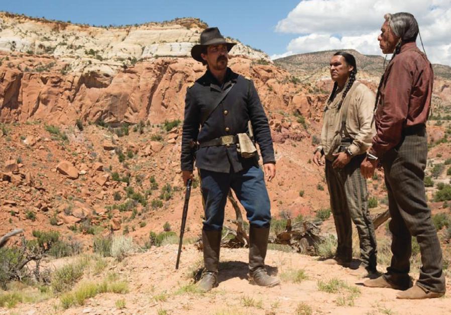 A scene from the film Hostiles
