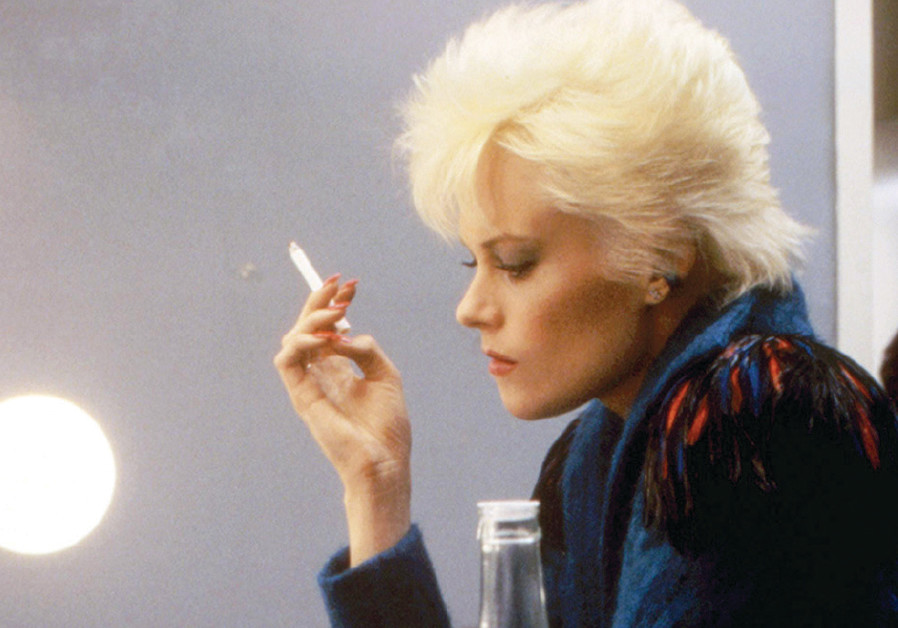 A scene from the 1984 thriller Body Double, starring Melanie Griffith