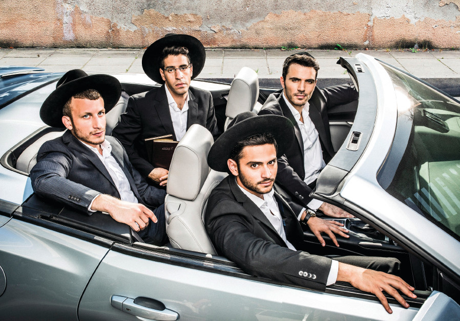 'SHABABNIKIM' is a lively comedy that follows three rebellious yeshiva students and one very serious