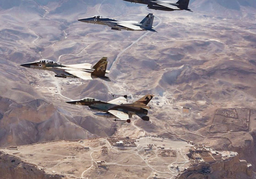 Satellite images show results of Israel's strike in Syria