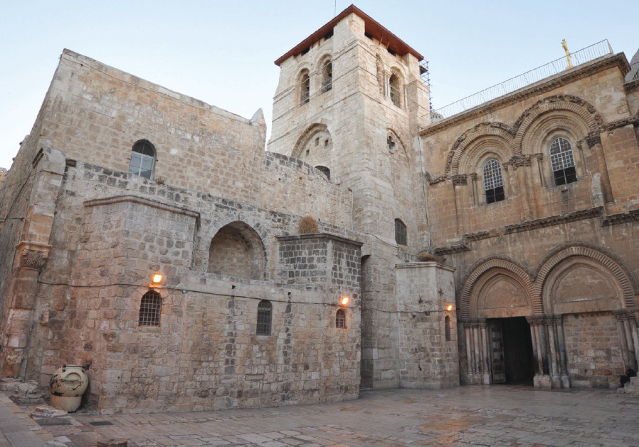 Christian leaders close church at Jesus's burial site in tax dispute