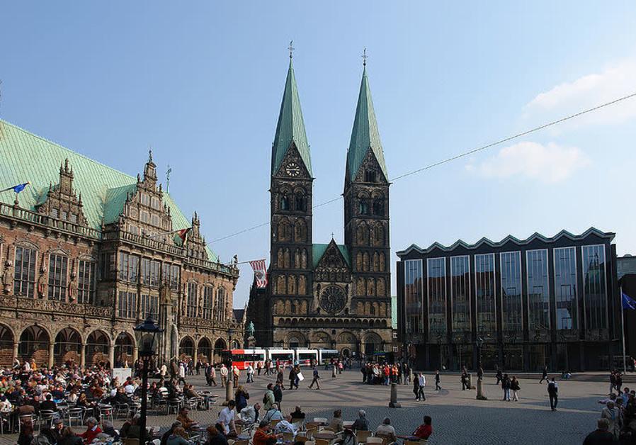 Bremen's city hall, cathedral and Bürgerschaft